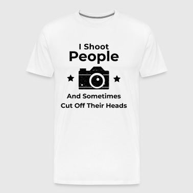 Photographer Photography Photo Shooting - Men's Premium T-Shirt