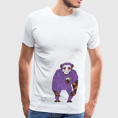 Wise monkey - Men's Premium T-Shirt
