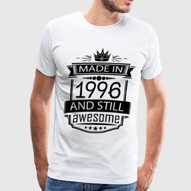 Made In 1996 And Still Awesome - Men's Premium T-Shirt