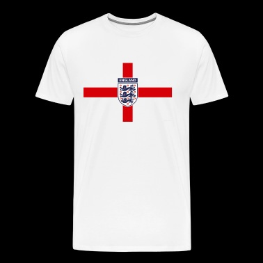 THE THREE LIONS ENGLAND - Men's Premium T-Shirt