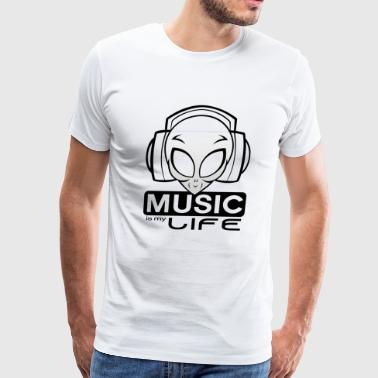 Music Alien - Men's Premium T-Shirt