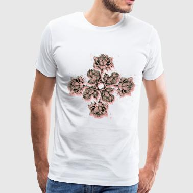 MIRROR FLOWERS - Men's Premium T-Shirt