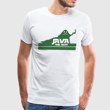 Java The Hutt Coffee - Men's Premium T-Shirt