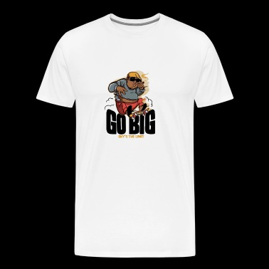 Go Big - Men's Premium T-Shirt