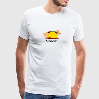 Taco Cat - Men's Premium T-Shirt