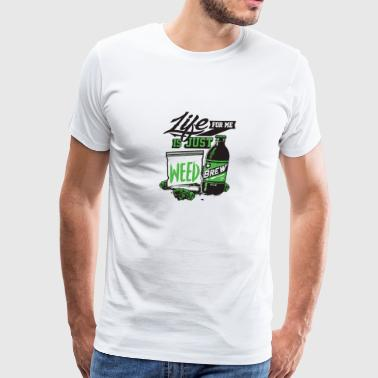 Life wide - Men's Premium T-Shirt