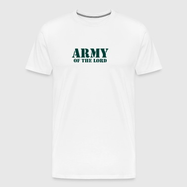 Army of the lord christian - Men's Premium T-Shirt