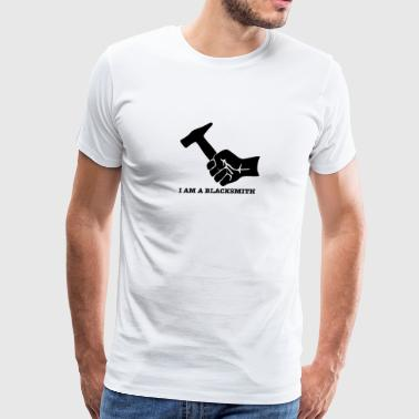 New Design Blacksmith Hammer Best Seller - Men's Premium T-Shirt