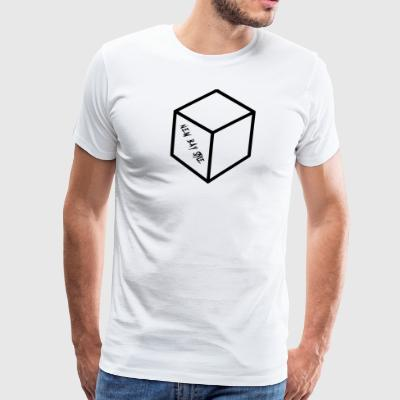 NEW BAY STYLE CUBE - Men's Premium T-Shirt