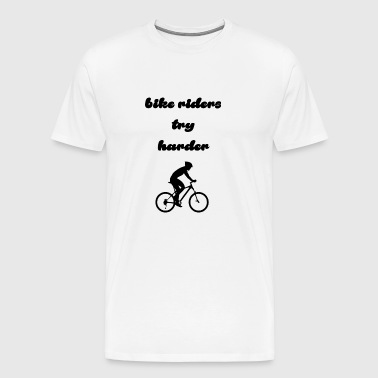 bike riders - Men's Premium T-Shirt