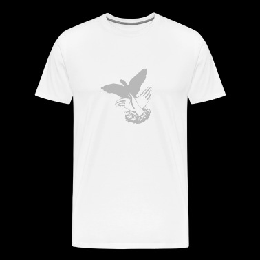 Shadowplay Bird Hands - Men's Premium T-Shirt