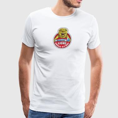 lions drag strip - Men's Premium T-Shirt