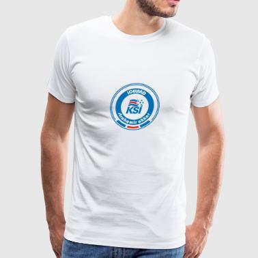 Football Team Iceland - Men's Premium T-Shirt