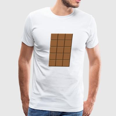 chokolate - Men's Premium T-Shirt