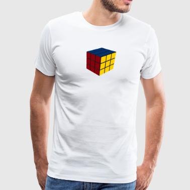 Game Cube SOLVED - Men's Premium T-Shirt