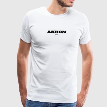 OHIO AKRON US EDITION - Men's Premium T-Shirt