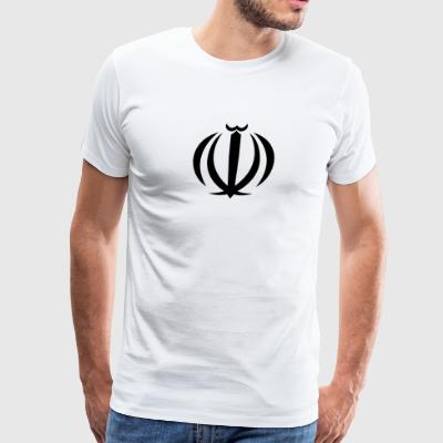 National Coat Of Arms Of Iran - Men's Premium T-Shirt