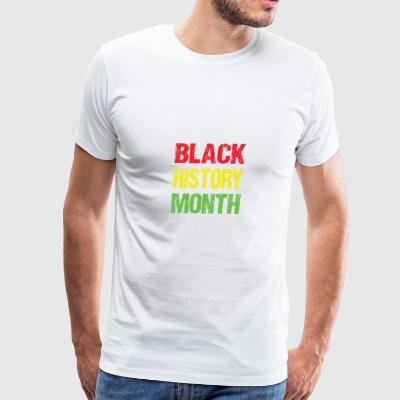 Black history month - Men's Premium T-Shirt