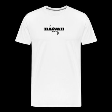 HAWAII HAWAII US STATE EDITION - Men's Premium T-Shirt