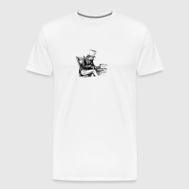 The Smoker - Men's Premium T-Shirt