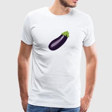 Egg Plant aka Purple Pickle - Men's Premium T-Shirt