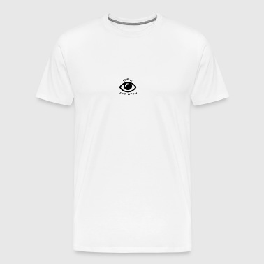 Black and white eye logo - Men's Premium T-Shirt