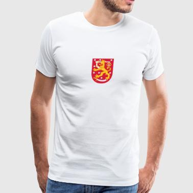 National Coat Of Arms Of Finland - Men's Premium T-Shirt