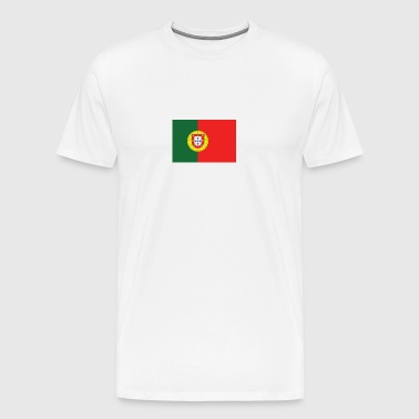 National Flag Of Portugal - Men's Premium T-Shirt