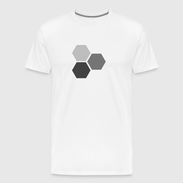 Hexagons - Men's Premium T-Shirt