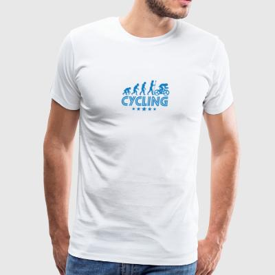Retro Cycling Evolution - Men's Premium T-Shirt