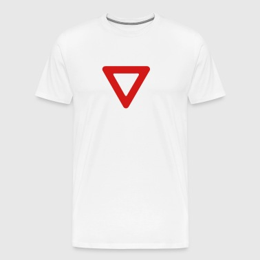 Yield! - Men's Premium T-Shirt