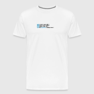 CSS Jokes - Many Clothes, But No Lover! - Men's Premium T-Shirt