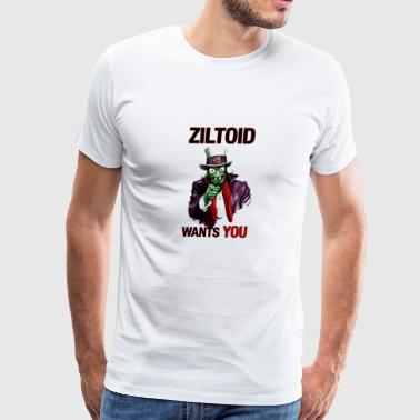 ziltoid - Men's Premium T-Shirt