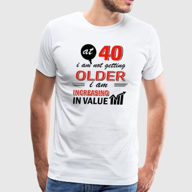 Funny 40 year old gifts - Men's Premium T-Shirt