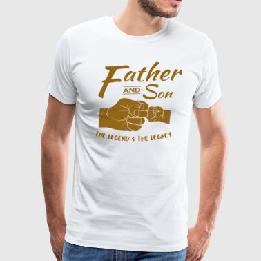 Father and Son gifts - Men's Premium T-Shirt