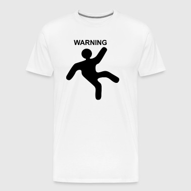 Caution Warning - Men's Premium T-Shirt