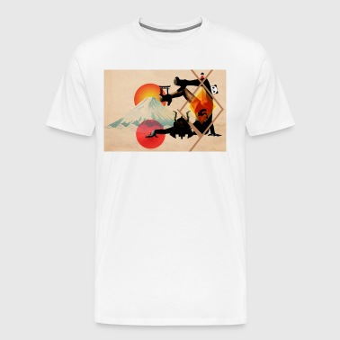 Japaned - Men's Premium T-Shirt