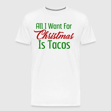 Christmas Tacos - Men's Premium T-Shirt