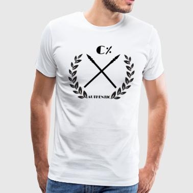 100% Authentic - Men's Premium T-Shirt
