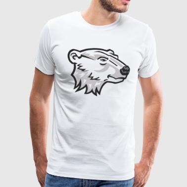 Bear Head - Men's Premium T-Shirt
