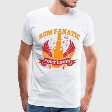 Rum Fanatic - Port Louis, Mauritius - Men's Premium T-Shirt