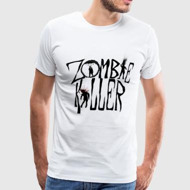 Zombie Killer (Control) - Men's Premium T-Shirt