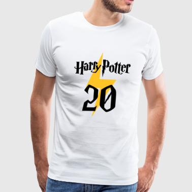 Harry Potter 20th anniversary - Men's Premium T-Shirt