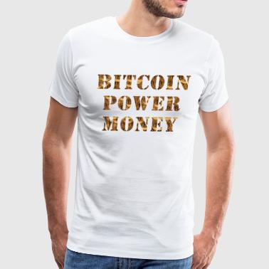 BITCOINDESIGN3 - Men's Premium T-Shirt