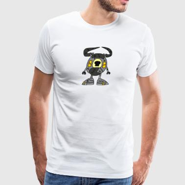 Crossover Seismo as a Bread Zombie - Men's Premium T-Shirt