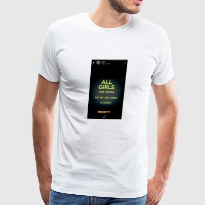 A quation for girls - Men's Premium T-Shirt