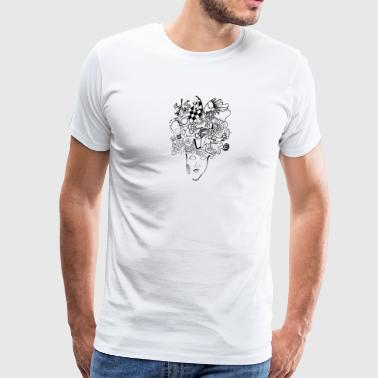 What are you thinking? - Men's Premium T-Shirt