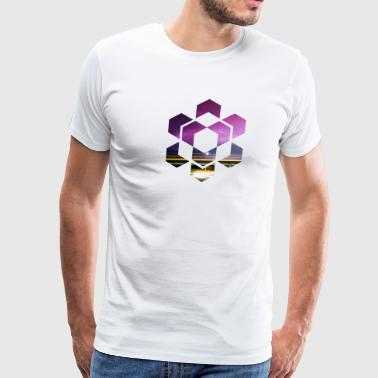 Geometric Shape - Men's Premium T-Shirt