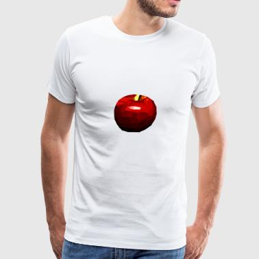 PIXEL APPLE - Men's Premium T-Shirt