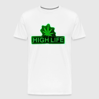 HIGH WEED LIFE - Men's Premium T-Shirt